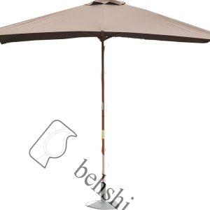 چتر پایه چوبی قطر 4