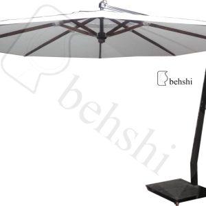 چتر پایه کنار قطر 4 متر